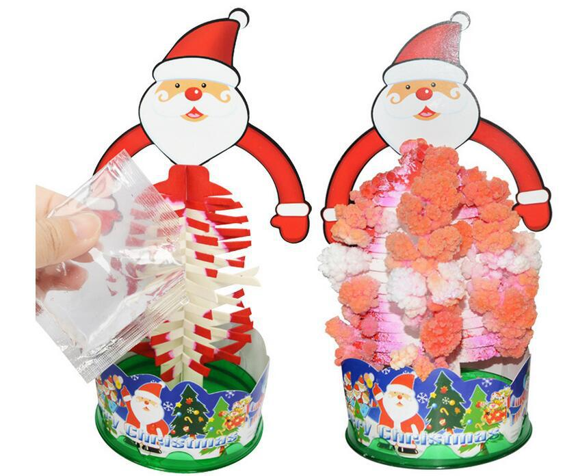 Magic Growing Crystal Christmas Tree Kids Creative Birthday Gift Educational Novelty Games Toy