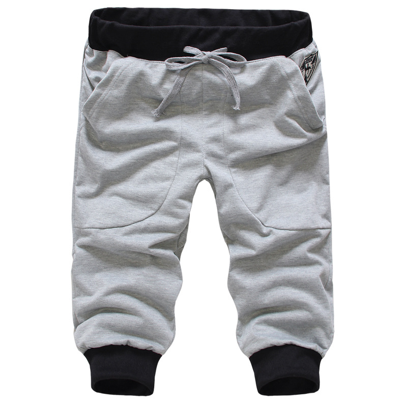 Men's Sports Capri Pants Korean-style Youth Popularity Capris Men