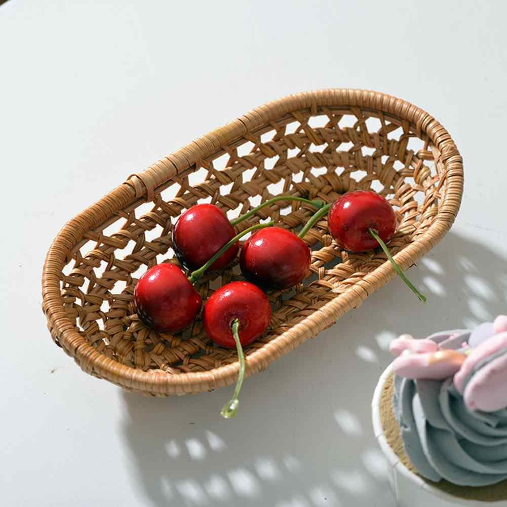 Natural Large Woven Seagrass Basket Of Straw Wicker For Home Table Fruit Bread Towels Small Kitchen Storage Container Set Storage Baskets Aliexpress