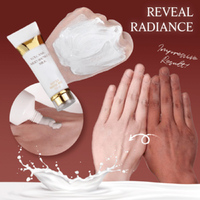 250ml Hot Sale Volcanic Mud Shower Gel Whole Body Wash Fast Whitening Deep Clean Skin Moisturizing Exfoliating Body Care 3
