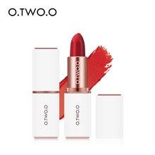 O.TWO.O 1PCS Pigment Matte Lipstick Moisturizer Long Lasting