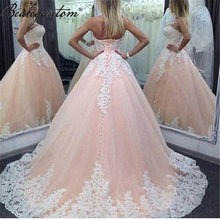 Bealegantom Винтаж Пышное Бальное Платье платья; Кружевное платье