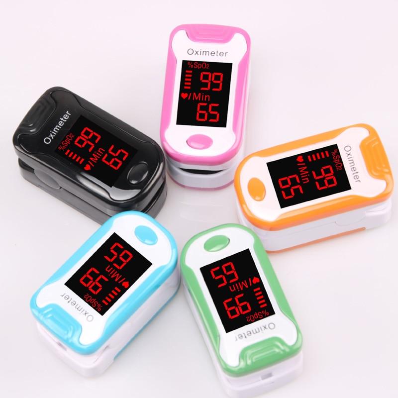Medical Fingertip Pulse Oximeter LED Blood Pressure Monitor Oximetro De Dedo Portatil Saturator Pulsioximetro