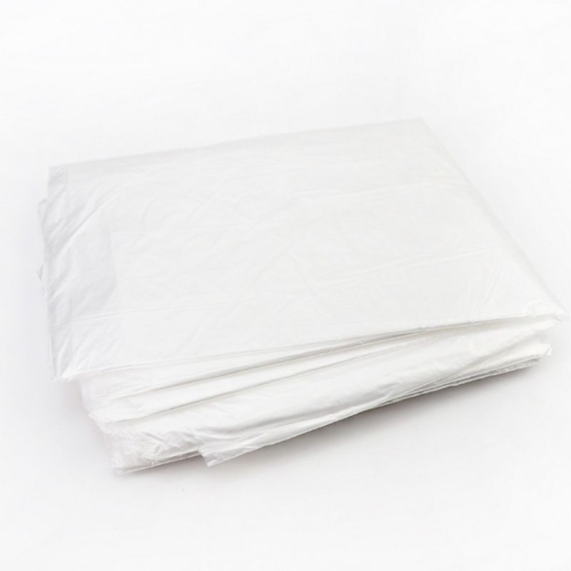 10 Pack Disposable Bathtub Cover Liner Ultra Large Plastic Folding Bag Travel