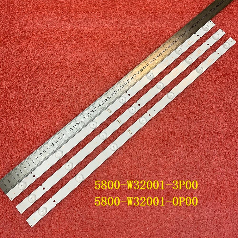 3 PCS LED backlight strip for  Skyworth 32X3000 32E3000 32HX4003 32E3500 32E360E 5800-W32001-3P00 0P00 CRH-A323535030751AREV1