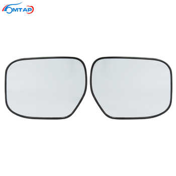 MTAP Exterior Door Side Mirror Glass Lens Rearview Mirror Lens For HONDA For CITY GM2 GM3 2009 2010 2011 2012 2013 2014 image