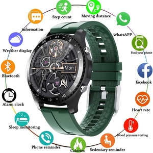 2020 New Smart Watch Business sports Heart rate Blood pressure Pedometer sleep Information reminder Call answer Waterproof watch