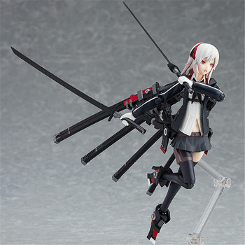 Heavy Soldier Type Female 422# Figure High School Student Girl PVC Figma Action Figure Collection Model Toy Gift 15cm NEW Anime 4