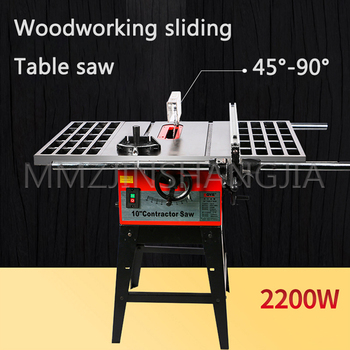 380V Large Woodworking Table Saw Desktop Push Saw Sawing Machine Multifunction Open Material Decoration Electric Cutting Machine cutting woodworking multifunctional chainsaw logging saw electric sawing machine rechargeable electric chain saw 4556