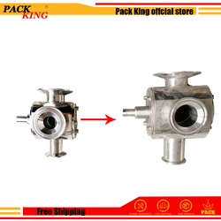 Bigger Rotating Valve Exchange For The Filling Machine For Filling Material With Particles