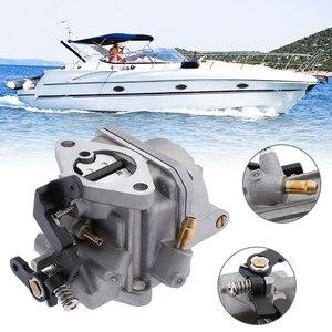 Image 5 - Boat Carburetor Marine Carburador Carb Assy For 4 Stroke 4HP 5HP Tohatsu /Nissan/Mercury Outboard Motor Boat Accessories Marine