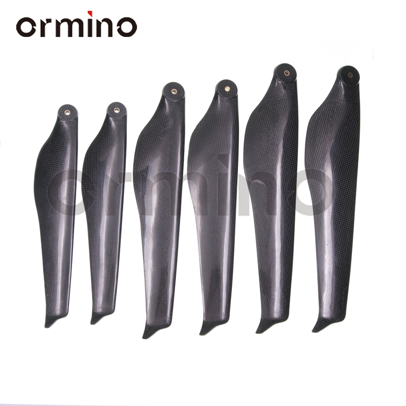 Ormino 32 Inch Folding Propeller T Quadcopter Motor Propeller Carbon Fiber RC Drone Multicopter 34 36 Inch UAV Foldable Prop