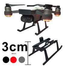 Landing Gear for DJI Spark Drone 3CM Height Extender Legs Light Weight Quick Release Feet Protective Parts Protector Accessory цена 2017