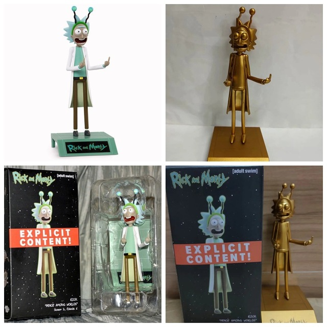 New 2021 R&M Figure Toys