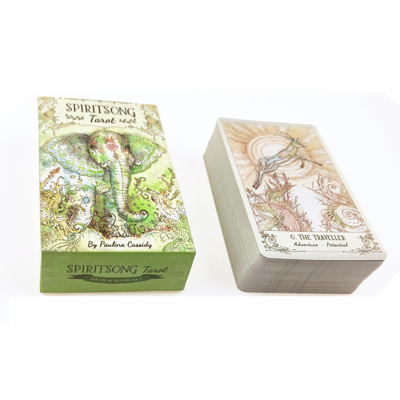 Mysterious Spiritsong Tarot Deck Cards Board Game Party Family Entertainment 78 Cards/set