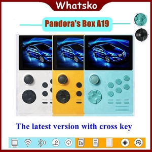 Whatsko Retro konsola do gier HDMI A19 puszka pandory 3.5