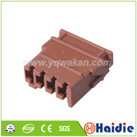 Free shipping 2sets 4pin auto wire plastic husing plug unsealed cable connector|Connectors| |  -