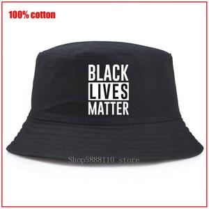 Sombrero de pescador de verano para hombres y mujeres, sombrero de pescador George Floyd-de Black Lives Matter, sombrero de adulto de Panamá bob, sombrero divertido para niña y niño