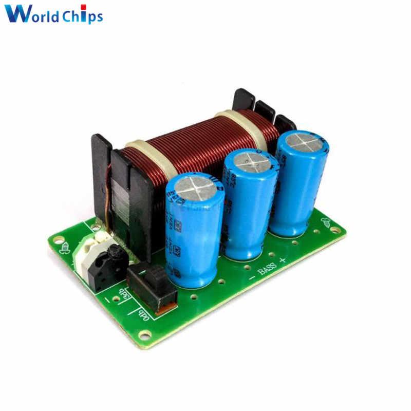 200W Subwoofer Mono Amplifier Crossover Filter HI FI untuk Bass Subwoofer Rumah Speaker Sistem Kontrol Volume Audio Analyzer