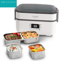 Electric Lunch Box Rice Cooker Automatic Heating Timing Insulation Mini Office Worker Double layer Cooking