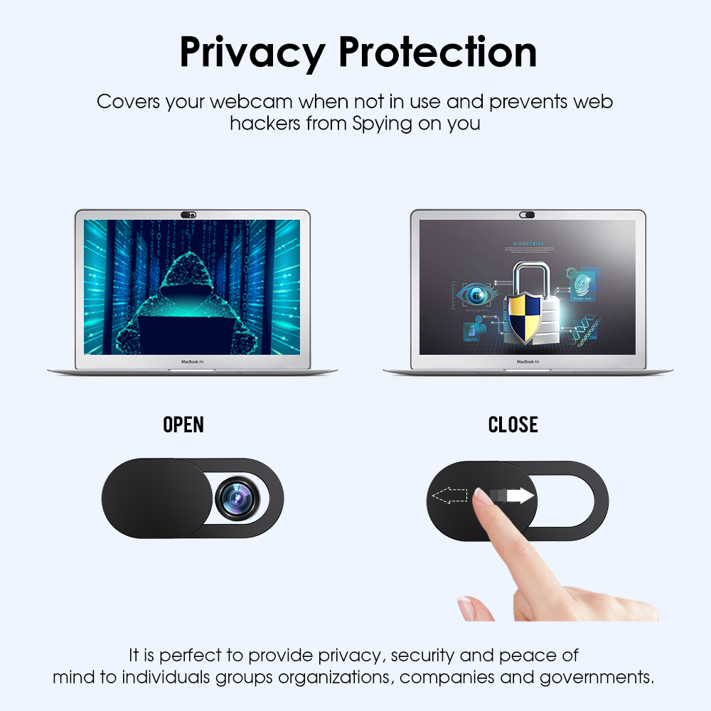 Universal Mobile Phone Privacy Sticker WebCam Cover Shutter Magnet Slider Plastic For iPhone Web Laptop iPad Tablet camera cover