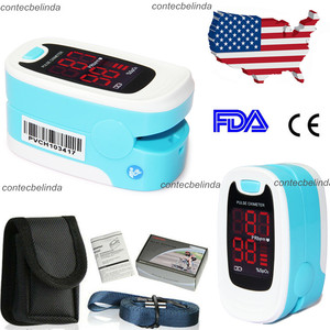 Envío Gratis China & USA CMS50NA OLED/ CMS50M LED oxímetro pulso dedo Monitor oxígeno sangre SpO2 + funda