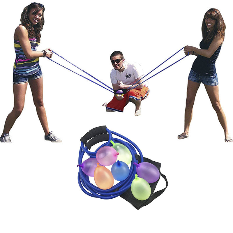 Water Balloon Launcher Slingshot Outdoor Toys Water Gun Beach Water Fight Snowball Throw Snowballs Fighter For Boys And Girls
