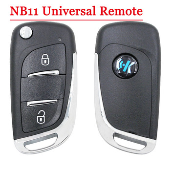Good Quality (1 Piece)NB11 Universal Multi-functional Kd Remote 2 Button NB Series Key For KD900 URG200 Remote Master