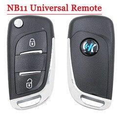Gute qualität (1 stück) NB11 Universal Multi-funktionale kd remote 2 taste NB serie schlüssel für KD900 URG200 remote Master