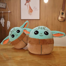 Disney 13CM Baby Yoda Plush Toy Girl Gift Cute Cartoon Mandalorian Pillow Stuffed Doll Kawaii Plush Dolls Star Wars Kids Toy