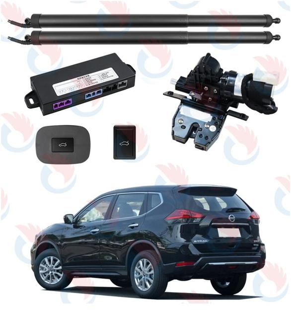 Better Smart Auto Electric Tail Gate Lift for Nissan X Tail 2014+ years, very good quality, free shipping!with suction lock!
