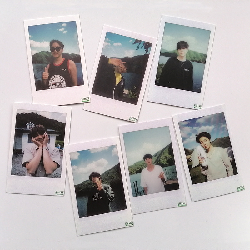 Lomo-Paper-Card Fans Bang Photocard The-Soop Boys in Collet Ice-Cream Con New-Arrival