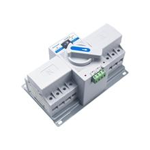 4P AC350-415V  MCCB type Dual Power Automatic transfer switch ATS Transfer Switch 4P Power Transfer Switch Circuit Breakers