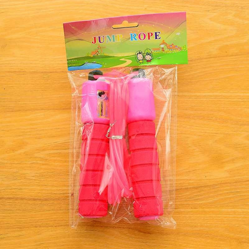 Single Person Kids Rope Wear-Resistant Children Young STUDENT'S Count Adjustable GIRL'S Game Beginner Jump Rope