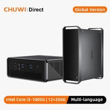 CHUWI CoreBox Pro, Mini ordinateur de bureau, 10th Intel Core i3, 12 go de RAM, 256 go de ROM, Windows 10 Mini PC, Thunderbolt 3, Port DP