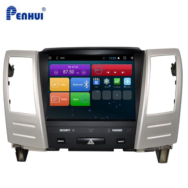 Android Car dvd GPS Navigation System for Lexus RX330 /RX300/RX350/RX400H (2004-2008) Wifi/3G/Hotspot of Mobile /GLONASS/USB