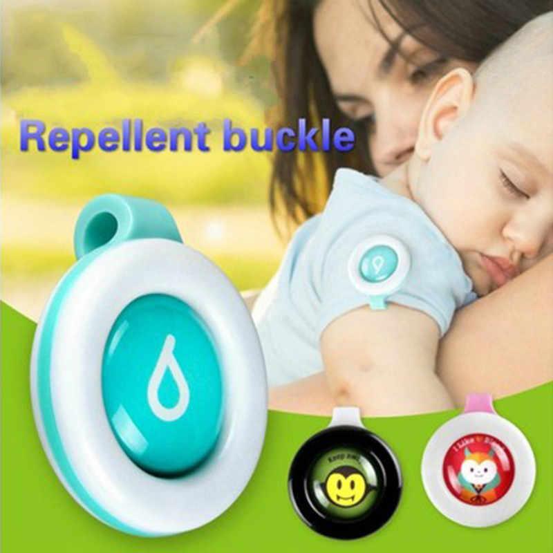 1 STUKS Muggen Knop Veilig voor Zuigelingen Baby Kids Gesp Indoor Outdoor Anti-muggen Nieuwe Collectie Drop schip @ 1