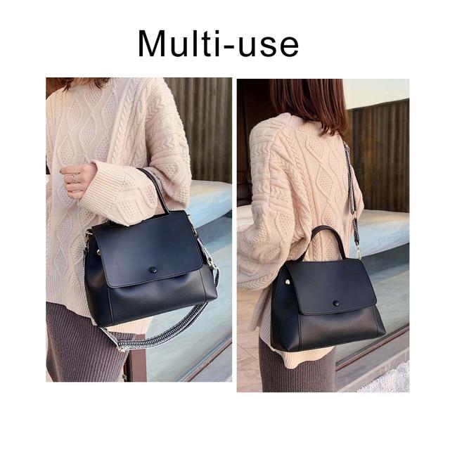 Fashion Simply PU Leather Crossbody Bag For Women  2
