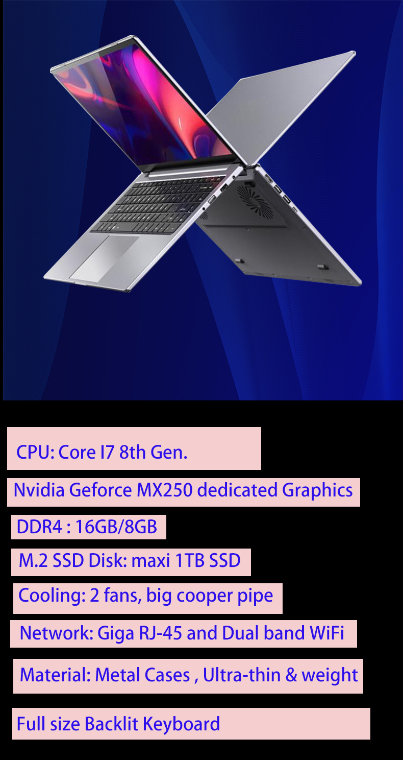 16GB Gaming laptops