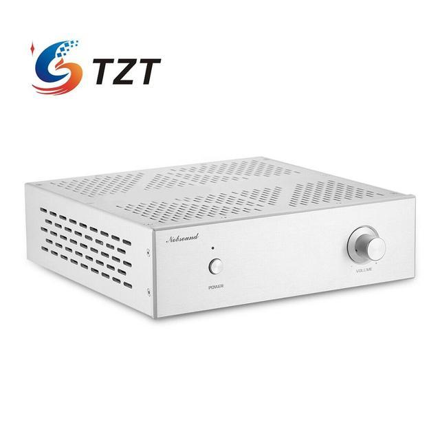 TZT F200 Vacuum Tube Preamplifier Stereo HiFi Audio Tube Preamplifier Preamp Replacement For JP200