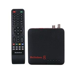Image 2 - Новый спутниковый приемник Hellobox 8, ресивер стандарта DVB S2, комбинированный ТВ приставка, тюнер, поддержка ТВ проигрывания на телефоне, спутниковый ТВ приемник DVB S2X H.265