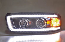 For Chevrolet Captiva 2015-2017 modified double lens highlight Xenon head lights LED daytime running lights(China)