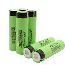 Large Capacity 1-50pcs 3.7v 18650 3400mah Lithium Rechargeable Battery NCR18650B for Panasonic for Flashlight brakes computer(China)
