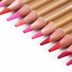 Image 4 - Профессиональные 72 цветные карандаши для карандашей, Набор Предварительно заточенных водорастворимых цветных карандашей с кистью, защитная коробка для хранения