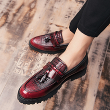 Luxury Patent Leather Men Shoes Business Wedding Dress Double Monk Strap Slip on Brown Black Shoes Men Casual Shoes Loafers Men maloneda brand men s patent leather shoes custom made goodyear welted double monk straps shoes slip on dress shoes