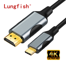 Lungfish usb c to hdmi 4K Type C to HDMI Cable Ada