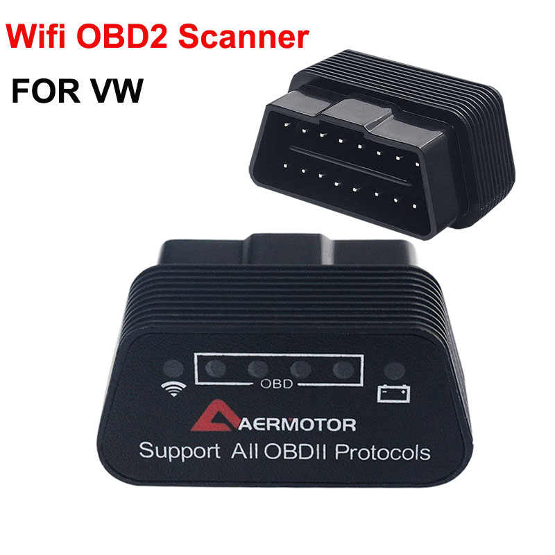 Pic25k80 wifi OBD2 vw パサート B6 B7 B8 B5.5 ゴルフ 4 MK4 7 ジェッタ MK5 MK6 cc アンドロイド ios ELM327 スキャナ診断ツール