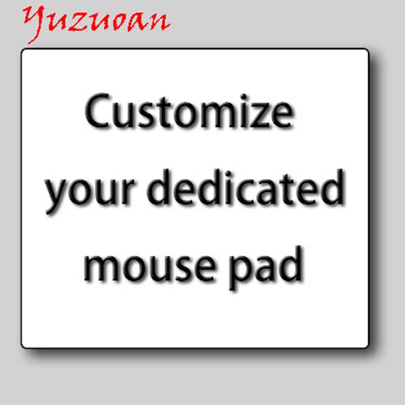 Yuzuoan Customize Your Own Photo Creative Personality Fashion Game Mousepad Multi Size Computer Unique Diy Design Logo Pad 90x40 Aliexpress