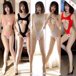Suit Swimwear Bikini Bandage Cosplay Japanese Maillot-De-Bain Women for Uniform SUKUMIZU