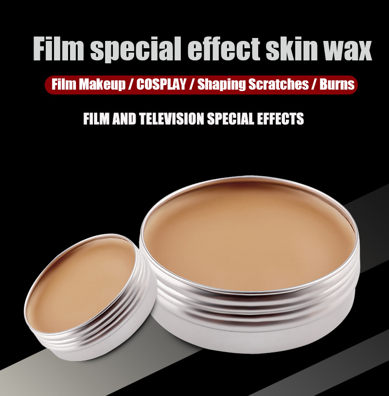 Movie Special Effect Skin Wax Modeling Scar Wax For Performance Party Stage MH88